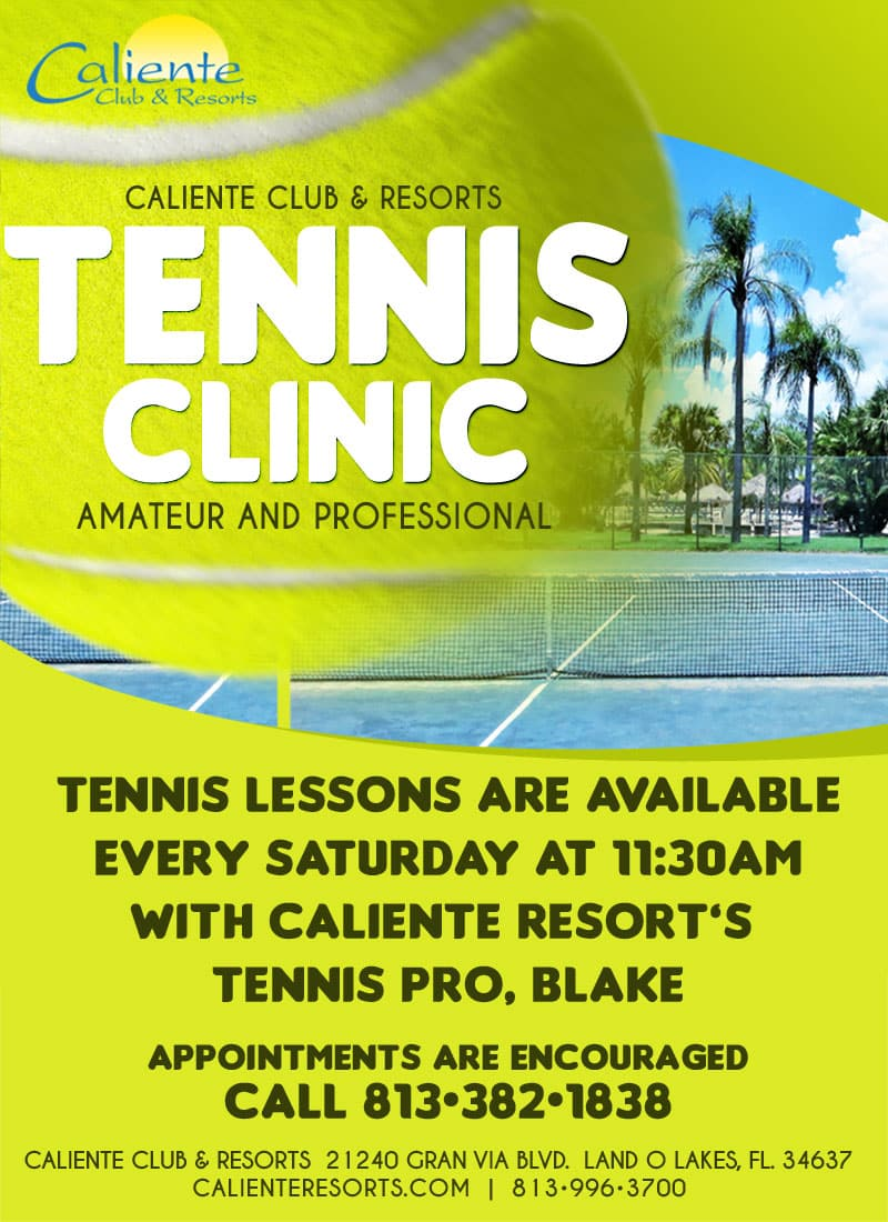 Caliente Resorts Tennis New