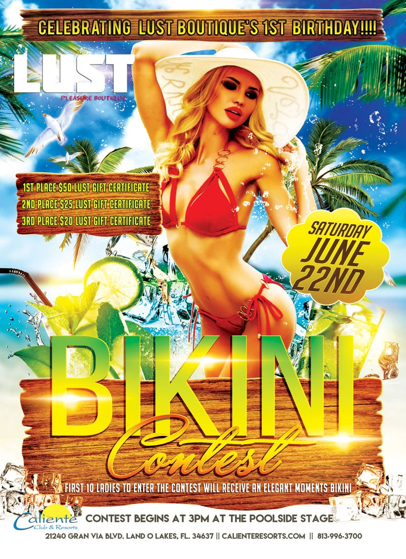 Caliente Resorts Trudy Birthday Bikini Contest