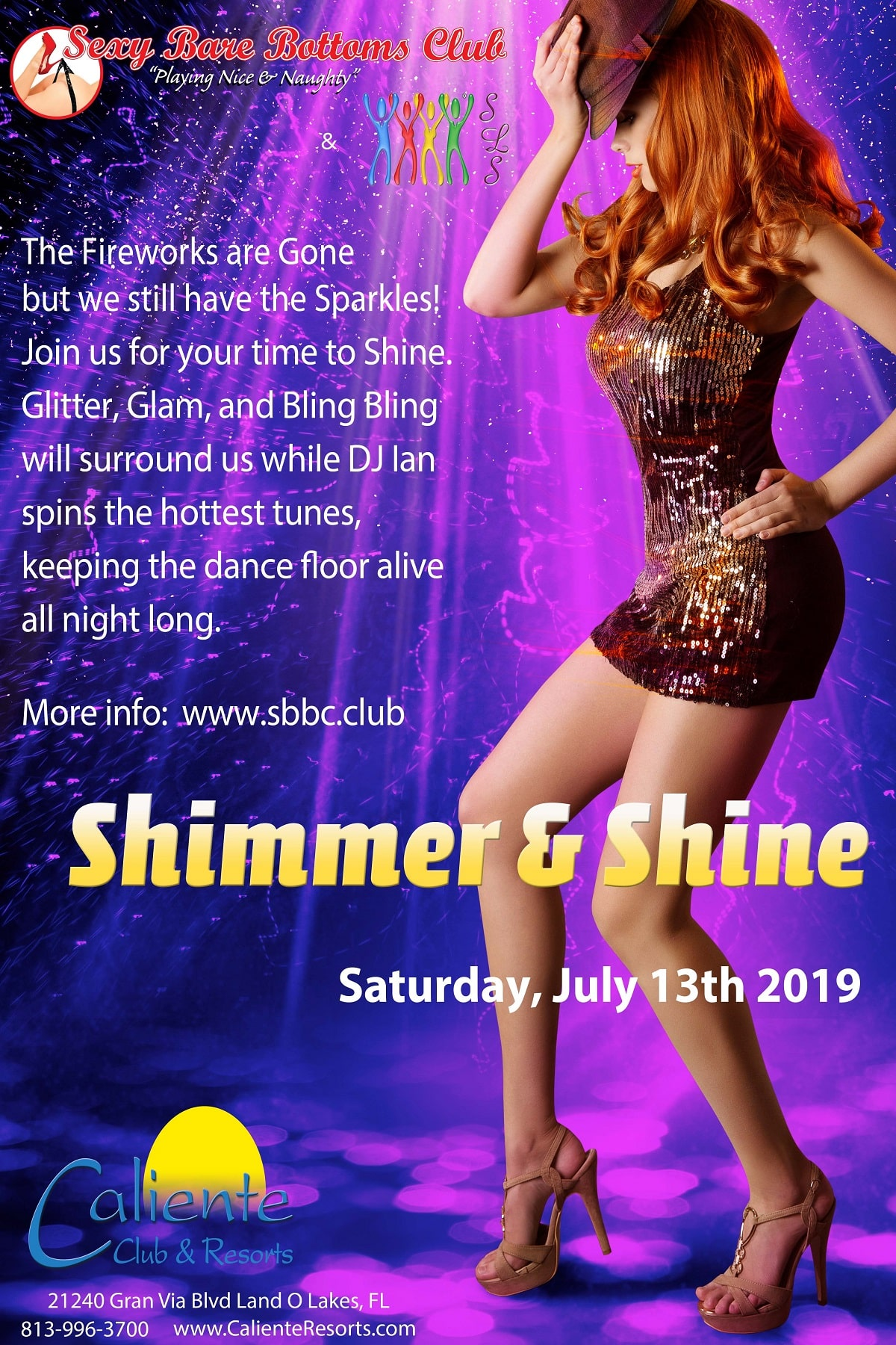 Caliente Resorts Shimmer and Shine